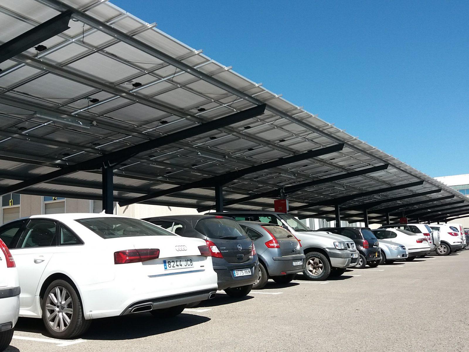Proyecto fotovoltaico sobre cubierta de 380kW