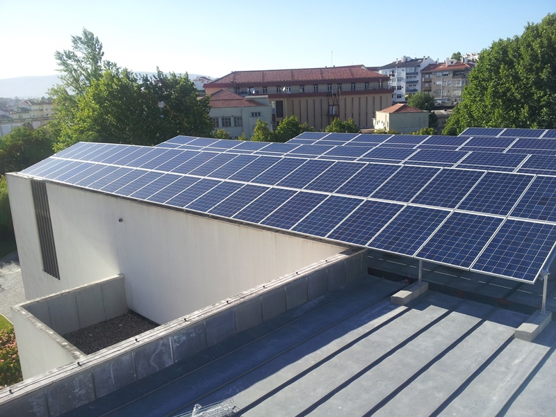 Photovoltaic project on roof of 770 KW
